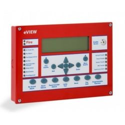 Kentec K1172-10 eView Analogue Addressable Repeater Panel - UL / FM Approved - Red