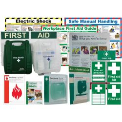First Aid Compliance Bundle Pack - British Standard Compliant - K3099CP