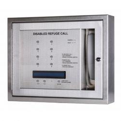 Kentec K41208SST Safe-Point EVCS 8 Line Central Unit With OLED Display & Loop Wiring - Surface Version