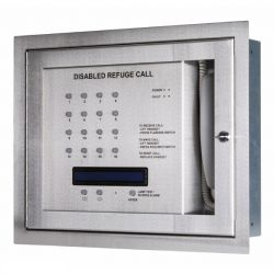 Kentec K41216SST Safe-Point EVCS 16 Line Central Unit With OLED Display & Loop Wiring - Surface Version