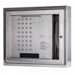 Kentec K41232FST Safe-Point EVCS 32 Line Central Unit With OLED Display & Loop Wiring - Flush Version