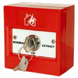KAC K30SRS-43 Firemans Extract Keyswitch