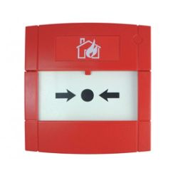KAC MCP6H-RC01SF-K013-01 High Humidity Call Point - Single Pole Changeover Contact 30VDC - Red