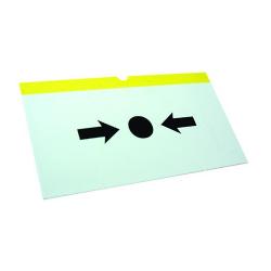 Call Point Plastic Element for Morley Break Glass