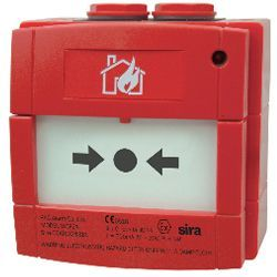 KAC WCP2A-R470SG-01IS Waterproof Intrinsically Safe Call Point With LED