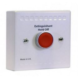 Kentec K91000M10 Sigma Si Extinguishant Hold Unit - Green Button