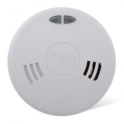Kidde 1SFW-R Mains Interlinked Ionisation Smoke Detector With 10 Year Life Battery Backup