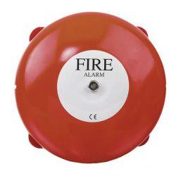 Vimpex MBA-8+BBX4 Weatherproof Bell - Red - 200mm