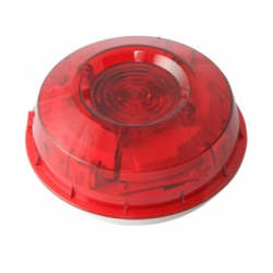 Morley IAS MI-WST-PR-I Wall Mounted Beacon Strobe With Isolator - Addressable - Red