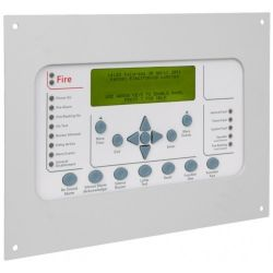 Kentec MK67001AM1 Syncro View Marine Repeater 24v Flat Plate Fascia with Keyswitch