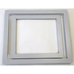 Advanced MXM-501 Semi-Flush Mounting Bezel For Small Enclosure Panels