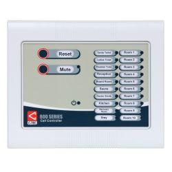 C-Tec NC910F 800 Series 10 Zone Master Call Controller - Flush Mounted