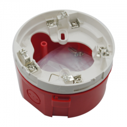 Notifier SDBR Surface Mounted Back Box For Sounder In Red