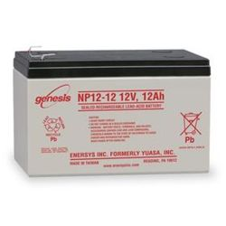 Mobility Scooter Battery (Batteries) 12Ah 12V Sealed Rechargeable Lead Acid Battery Enersys Genesis