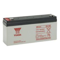 Yuasa NP2.8-6 Sealed Lead Acid Battery - 2.8Ah 6V