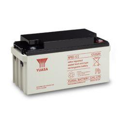 Yuasa NP65-12IFR 65Ah 12V Sealed Lead Acid Battery - Flame Retardant Version