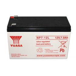 Yuasa NP7-12L Battery 7 Ah 12 Volt Sealed Lead Acid Battery