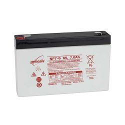 Enersys NP7-6 Sealed Lead Acid Battery 7Ah 6V