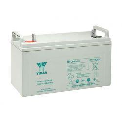 Yuasa NPL100-12 Long Life Lead Acid Battery - 100Ah 12V