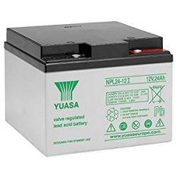 Yuasa NPL24-12I Long Life Lead Acid Battery - 24Ah 12V