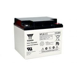 Yuasa NPL38-12I Long Life Lead Acid Battery - 38Ah 12V