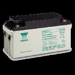 Yuasa NPL65-12IFR Long Life Flame Retardant Lead Acid Battery - 65Ah 12V