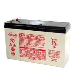 Enersys Datasafe NPX24-12 Battery - 12V 6Ah 24W