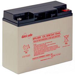 Enersys NPX80-12 Datasafe Battery - 12V 80W