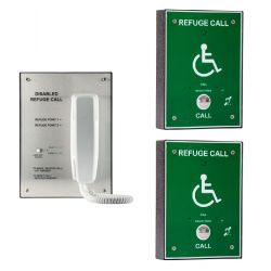 Cameo Systems ORB/R/RS2/S Disabled Refuge System - Surface Mount 2 Line Package System - Includes 2 Outstations