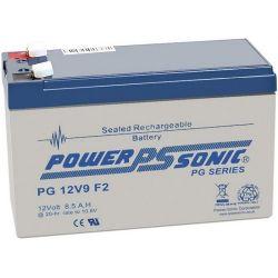 Powersonic PG12V9 8.5Ah 12V Sealed Lead Acid Battery