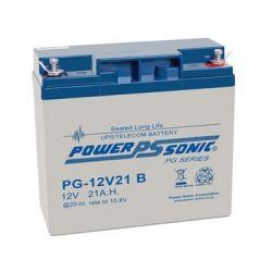 Powersonic PG12V21 21Ah 12V Sealed Lead Acid Battery