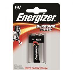 Energizer PP3 Alkaline 9V Battery - Pack of 1 - 6LR61 / MN1604 9V