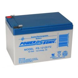 Mobility Scooter Battery PS12120 12Ah 12V Sealed Lead Acid Battery - Powersonic PS12120