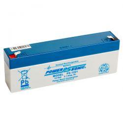 Powersonic PS1221 2.1Ah 12V Sealed Lead Acid Battery (SLA)