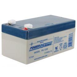 Powersonic PS1230 3.4Ah 12V Sealed Lead Acid Battery (SLA)