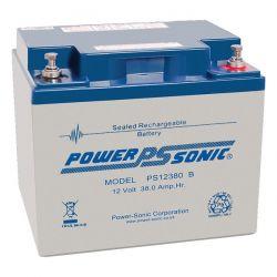 Powersonic PS12380 38Ah 12V Sealed Lead Acid Battery (SLA) PS-12380