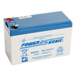 Powersonic PS1270 7Ah 12V Sealed Lead Acid Battery (SLA) PS-1270