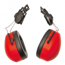 PW42 Clip On Ear Protector (Red)