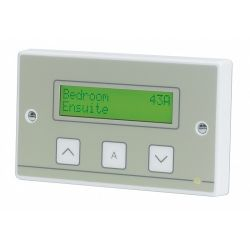 Call System Quantec Corridor Display with Controls - C-Tec Quantec QT608C