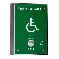 Cameo Systems RCO/GB Disabled Refuge Outstation - Type B - Green