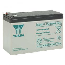 Yuasa REW45-12 Lead Acid Battery - 12V 45W