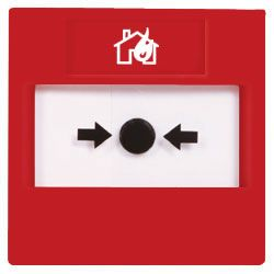 STI Reset Call Point - Conventional Flush Mounted - RP-RF-01