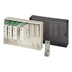 Gent S4-34496 Large Plastic Interface Enclosure - Houses Upto 6 Interfaces