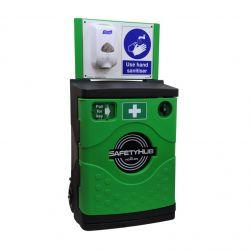 Howler SHG05 Safety Hub Hand Sanitiser Station With Lockable Cabinet