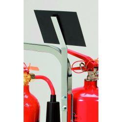 Metal Fire Extinguisher Sign Bracket - SHS3