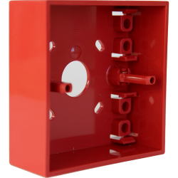 SMS SenTri MCP Surface Back Box  Addressable SEN-895