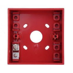 KAC PS031W Surface Mounting Call Point Backbox - Red