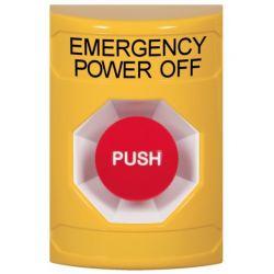 STI Stopper Station Emergency Power Off Push Button - Yellow - SS2204PO-EN