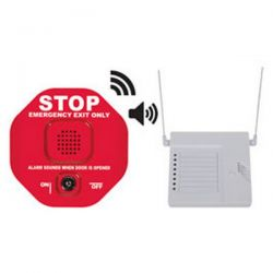 STI-6400WIR8 Wireless Exit Door Alarm - Red - Includes STI-34108 8 Channel Receiver