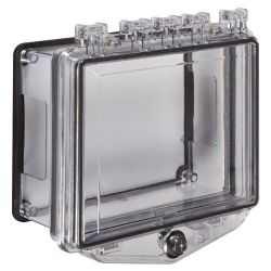 STI-7510-D Polycarbonate Enclosure with Conduit Spacer for Surface Mount & Key Lock